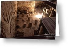 A Room Inside Masada Greeting Card