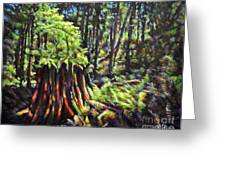 A Showcase In Forest Greeting Card