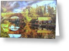 A Stop Along The Wey Greeting Card