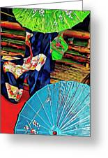 A Touch Of Japan Greeting Card