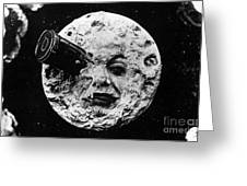 A Trip To The Moon, 1902  Greeting Card