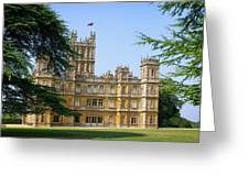 A View Of Highclere Castle Greeting Card by Joe Winkler