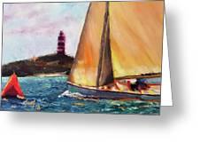 Abaco Rage On The Mark Greeting Card