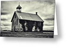 Abandoned Schoolhouse Greeting Card by Garvin Hunter