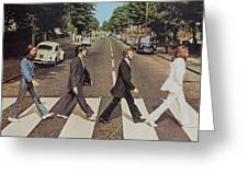 Abby Road Greeting Card