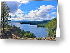 Above The Waters Greeting Card