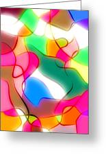 Abstract G1 Greeting Card