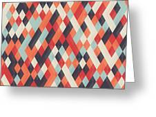 Abstract Geometric Background For Greeting Card