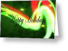 Abstract Holiday Greeting Card