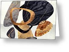 Abstract Pebbles IIi Greeting Card