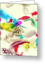 Abstract Softness Greeting Card