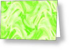 Abstract Waves Painting 0010076 Greeting Card