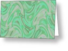 Abstract Waves Painting 0010092 Greeting Card
