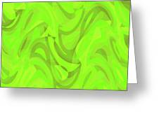Abstract Waves Painting 0010093 Greeting Card