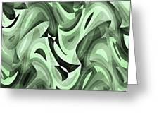 Abstract Waves Painting 0010095 Greeting Card