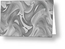 Abstract Waves Painting 0010119 Greeting Card