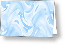 Abstract Waves Painting 007182 Greeting Card