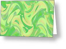 Abstract Waves Painting 007216 Greeting Card