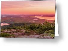 Acadia National Park Sunrise  Greeting Card