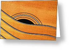 Acoustic Curves No 7,v Greeting Card by Bob Orsillo