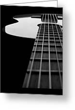 Acoustic Guitar Musician Player Metal Rock Music Lead Greeting Card