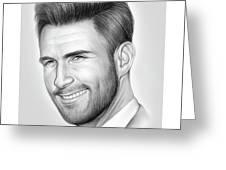 Adam Levine Greeting Card