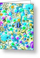 Adventures On Icon Reef Greeting Card