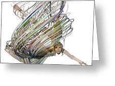 Aerial Hoop Dancing Whirlwind Of Hair Png Greeting Card