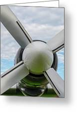 Aircraft Propellers. Greeting Card
