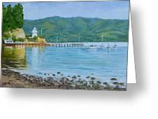 Akaroa Yacht Club Greeting Card