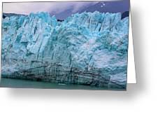 Alaskan Blue Glacier Ice Greeting Card