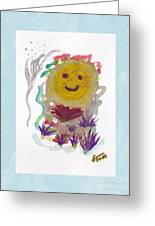 Alegria - Pintoresco Art By Sylvia Greeting Card