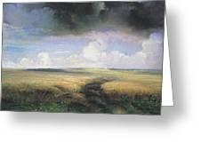 Alexei Savrasov - Rye Greeting Card