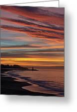 All Saints Day Sunrise Greeting Card