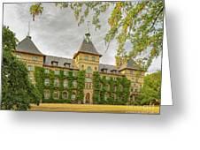 Alnarp Castle Building Rear Greeting Card