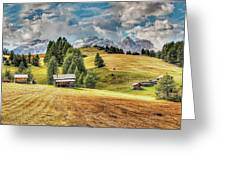 Alpine Beauty Greeting Card