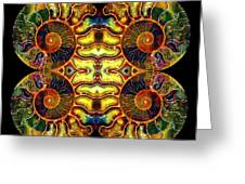 Ammonite Mandela - 044.1 Greeting Card