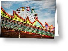 Amusement Park Fun Greeting Card