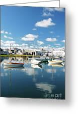 An Idyllic Boating Day Greeting Card