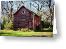 An Old Granary Greeting Card