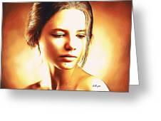 Anastasia Portrait Greeting Card