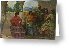 Andalucian Dancers  Greeting Card