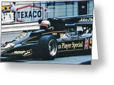 Andretti Monaco 78 Greeting Card