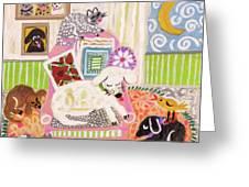 Animal Family 2 Greeting Card