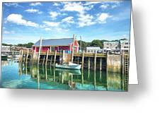 Another Day On The Water Greeting Card