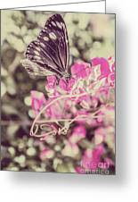 Antique Spring Greeting Card