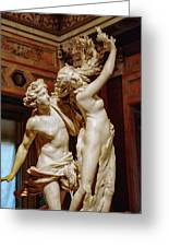 Apollo And Daphne Greeting Card