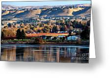 Apple Country Along The Columbia River Greeting Card