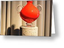 Apple Vase Greeting Card