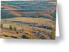 April Badlands Enchantment Greeting Card